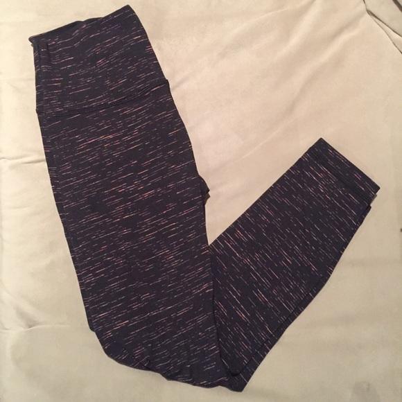 Lululemon Athletica Pants Lululemon Striped Wunder Under Tight